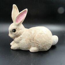"Large Ceramic Bunny Rabbit Easter Bunny Figurine/Statue 10"" x 8"" (Sh)"