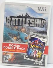 Battleship & X-Men Destiny DOUBLE PACK New Wii