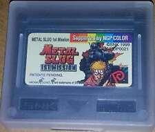 Metal Slug: 1st Mission Neo Geo Pocket New NEOGEO Pocket Color, neogeo_pock