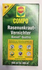 Banvel Quattro 400 ml gegen Unkraut Unkrautvernichter Rasen Distel Klee