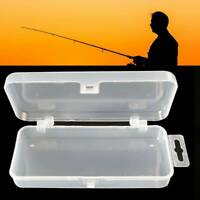 No Grid Empty Fishing Tackle Box Fishing Lure Hooks Bait Storage Cases Container