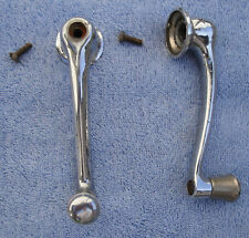1935 TO 1940 FORD STATION WAGON  - WOODY PAIR OF RARE FRONT WINDOW CRANK HANDLES