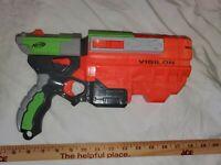 Nerf Gun Vigilon - Vortex - Disc Launcher - Used
