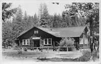 Real Photo Postcard High School Building at Happy Camp, California~111537