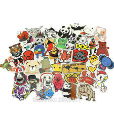 52 Animal Stickers Kids Childrens Décalques Dogs Cats Bears Panda Monkey Lion Bird