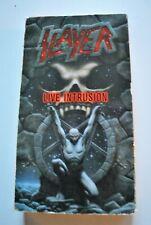 SLAYER LIVE INTRUSION VHS TAPE