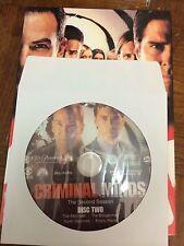Criminal Minds - Season 2, Disc 2 REPLACEMENT DISC (not full season)