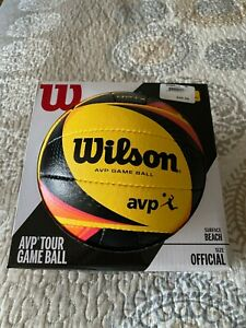 Wilson AVP OPTX Official Game volleyball NEW