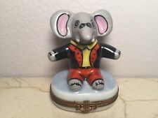 Limoges Box ~ Babar the Elephant ~ Rochard ~ Peint main France Rare Vintage