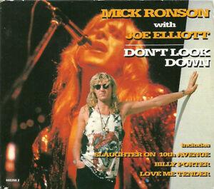 Mick Ronson Joe Elliott : Don't Look Down (CD 1994) *MINT* FREE! UK 24-HR POST!!