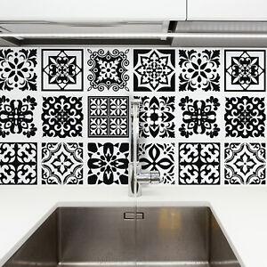 Tile Stickers Kitchen Bathroom Splashback Backsplash Peel and Stick Tiles Paint