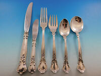 Chantilly by Gorham Sterling Silver Flatware Set for 12 Service 79 Pc Place Size