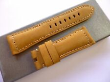 26/22mm Light Asso leather band - 26mm Strap Panerai style
