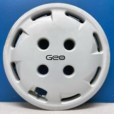 "ONE 1989-1991 Geo Metro # 3194 12"" Hubcap / Wheel Cover GM Part # 96060537 USED"