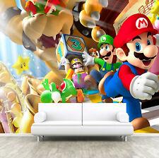 Super Mario Brother Friend Wallpaper Wall Mural Photo Bedroom Children Nursery