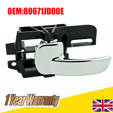 For Nissan Qashqai Inner Interior LEFT Rear OR Front Door Handle 80671JD00E UK