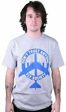DTA Rogue Status Fly Society Mens Tee in Heather/Blue Size: S