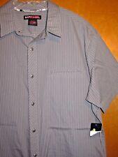 New Nwt! Men's Xl Tony Hawk Sport Dress Shirt Short Slv Skateboarding Golf Polo