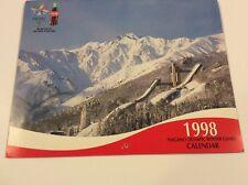 Coca-Cola Collectible Vintage 1998 Winter Olympic Calendar