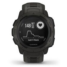 GPS Garmin instinto resistente al aire libre Reloj de muñeca Monitor de frecuencia cardíaca GLONASS Grafito 010-02064-00