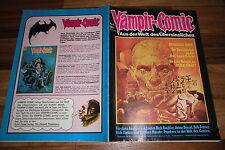 VAMPIR-COMIC # 8 / 1975 -- Illus. u.a.: RICHARD CORBEN+ESTEBAN MAROTO+R. Buckler