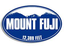 "5"" mount fiji japan blue mountain bumper sticker decal made in usa"