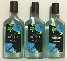 Hollister Co. Solana Beach Body Wash 8.4 oz / 250 mL (Lot of 3x) Rare! New!