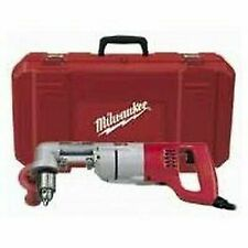 """NEW Milwaukee 3107-6 Corded 1/2"""" Heavy Duty Right Angle Drill Kit and Case"""