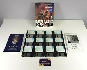 Sierra Police Quest Open Season PC Game Big Box 1993
