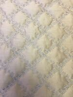Kravet Quiltted 100 %  Silk Fabric  Chairs Sofa Wall Covering Bed Cover 14 Yards