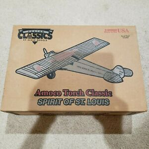 Amoco 1927 Torch Classic Spirit of St. Louis Plane, BRAND NEW