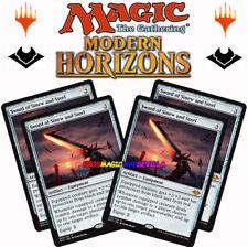 pre-Order Magic NM//M English MTG Sword of Sinew and Steel Modern Horizons