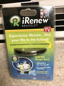 iRenew Bracelet As Seen On TV Focus Energy Power Wristband Wellness Silicone