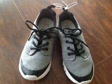 NWT  GAP KIDS GAP FIT TODDLER BOYS ACTIVE SNEAKERS SZ1 HEATHER GRAY