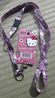 Set of 2 Sanrio Hello Kitty neckstrap lanyards - just $8 w/free postage fr Japan