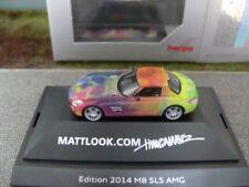 1/87 HERPA MERCEDES-BENZ sls AMG mattlook.com Edition 2 101929