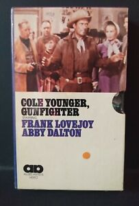 Cole Younger, Gunfighter (SEALED BETAMAX) Allied Artists (NOT VHS) *VERY RARE*
