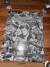 """FILMING 1986  Michael J. Fox MOVIE """"LIGHT OF DAY"""" POSTER"""