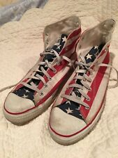 Converse All Star Red White Blue USA Flag Mens 11 Shoes
