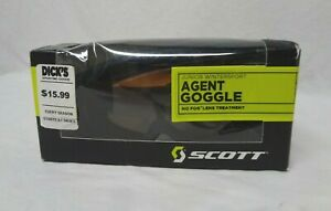 Junior WinterSport Agent Goggle by Scott - Black with Amber Lens