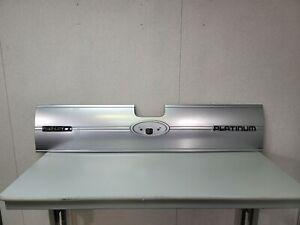 2009-2014 FORD F150 F-150 PLATINUM TAILGATE DECK LID TRIM *