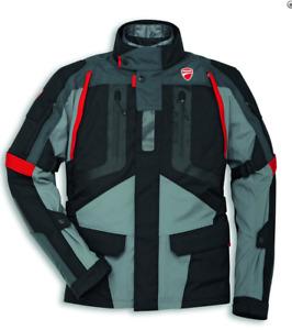 Ducati Strada C4 Motorradjacke Textil Gore Tex Gr. 56