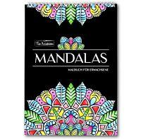 Mandalas: Malbuch für Erwachsene Spiralbindung & perforiertes A4 Künstlerpapier