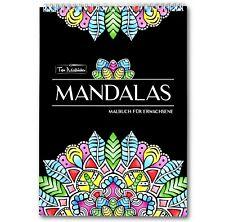 Mandalas: Malbuch für Erwachsene...