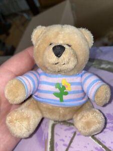"""Hallmark Cards 3.5"""" Bear Floral Shirt"""