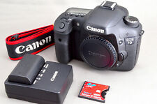 =N.Mint= Canon EOS 7D 18.0 MP Digital SLR Body Shots only 14K +CF Adapter *213