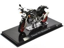 2001 Ducati 900 Monster S4 [Atlas 4110112] Schwarz, 1:24 Die Cast