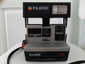 Vintage Polaroid Sun 600 LMS Land Camera