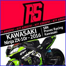 Kit Adesivi Kawasaki Ninja Zx-10 r Superbike 2016 - Jonathan Rea - Decals