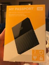 WD My Passport 2Tb External Hard Drive New Sealed